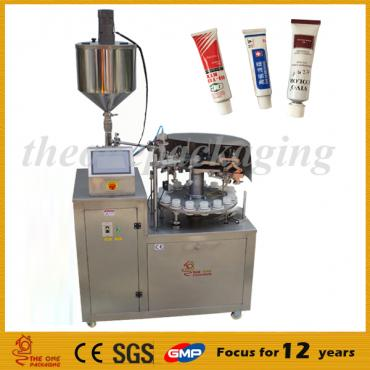 Nice Price Semi-automatic Aluminum Metal Tube Filling and Sealing Machine TOSF-25A